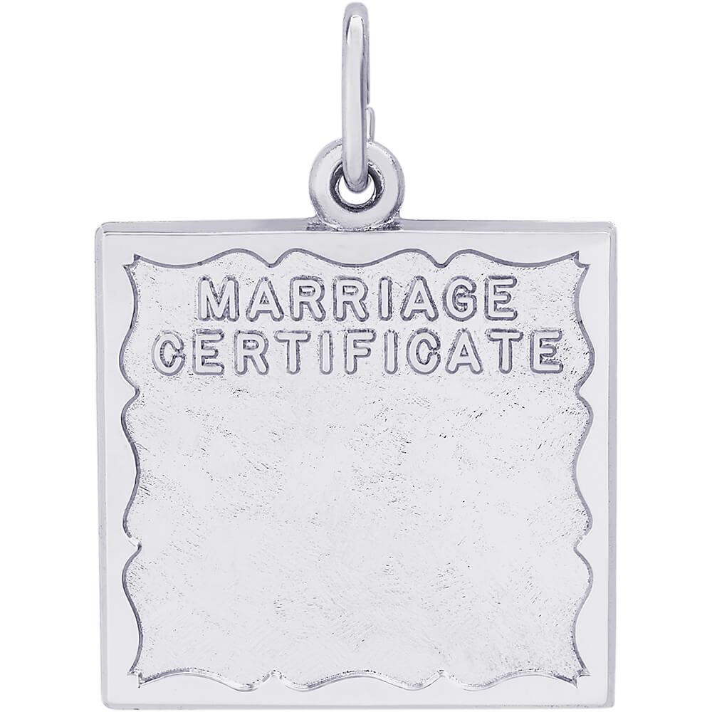 Marriage Certificate Item No 260037